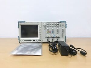 Tektronix Tps2012 100mhz 2ch Oscilloscope With P6100 Probes And An Adapter