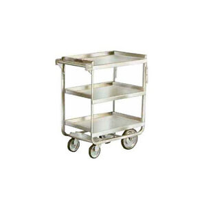 Lakeside 711 16 1 4 x30 x34 1 4 Stainless Steel Welded Utility Cart