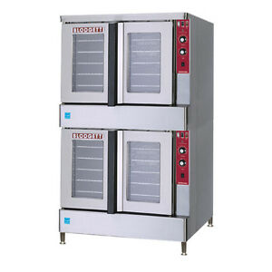Blodgett Bdo 100 e es Dbl Full size Electric Convection Oven Double Stack