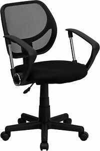 Cool Desk Chairs aurora Petite Low Back Mesh Office Chair