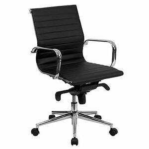 Cool Desk Chairs corona Slim Tall Mid back Swivel Conference Room Chair