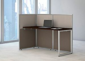 Cubicle Desk 24x60 Straight Desktop Work Cubicle For 1