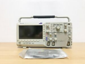 Tektronix Dpo2012b 100mhz 1gs s 2ch Oscilloscope With P6100 Probes