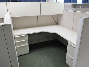 Used Office Cubicles Haworth Premise Cubicles 6x6