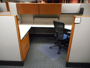 Used Office Cubicles Haworth Premise Cubicles 8x6