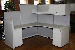 Remanufactured Cubicles Steelcase 9000 Cubicles 6x6
