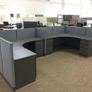 Used Office Cubicles Haworth Places Cubicles 6x6
