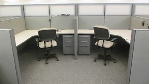 Used Office Cubicles Haworth Premise Cubicles 6x8