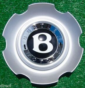 Genuine Oem Factory Bentley Continental Six Twin Spoke Gt V8 21 Wheel Center Cap