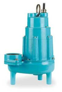 1 1 2 Hp 3 Manual Submersible Sewage Pump 230v Little Giant 18s cim