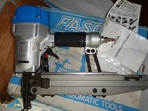Fasco F45c G 55 Ss 16 Gauge Pneumatic Staple Gun 7 16 Crown Air Stapler