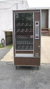 Automatic Products 6600 Snack Candy Vending Machine With Bill Unit Located In Md