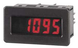 Red Lion Dt800020 Adj Time Base Tach W red Backlight