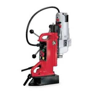 Magnetic Drill Press 500 250 Rpm 1 25 In Milwaukee 4208 1
