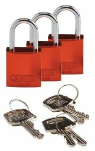 Lockout Padlock ka orange 1 7 16 h pk3 Brady 133283