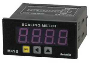 Dc Scaling Digital Panel Meter Autonics M4ys na