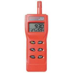 Amprobe Co2 100 Hand held Carbon Dioxide Meter 9999 Ppm