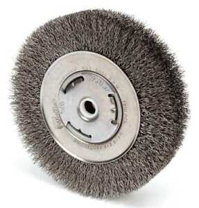 Weiler 93122 Crimped Wire Wheel Wire Brush Arbor 6