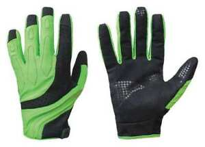 Mechanics Gloves xs hi vis Blk green pr Turtleskin Cpm 33a