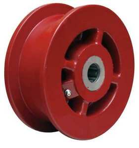 Caster Wheel cast Irn 6 In 2500 Lb red Zoro Select Wft 62h 1