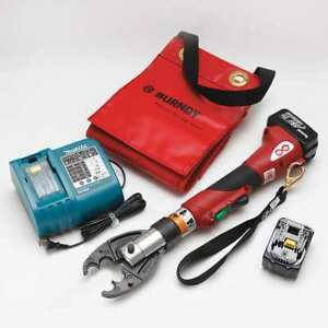 Battery Operated Crimping Tool Burndy Patmd68li