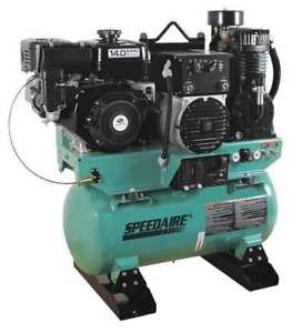 Stationary Air Compressor generator welder Speedaire 15d802