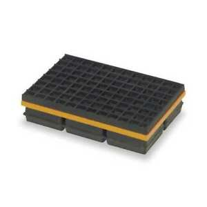 Vibration Isolation Pad 8x8x1 1 4 In Mason Mwsw8x8