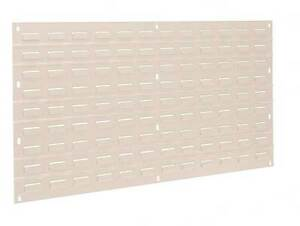 Akro mils 30636beige Louvered Panel 35 3 4 X 5 16 X 19 In
