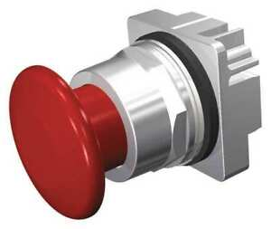 Push Button 30mm 1 75 In Mushroom red Siemens 52pp3w2