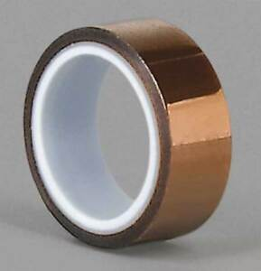 Film Tape polyimide amber 4 In X 36 Yd 3m 1205