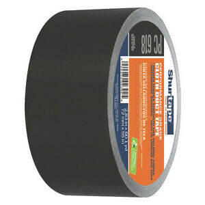 Shurtape Pc 618 Duct Tape 72mm X 55m 10 Mil black pk 16