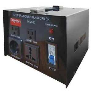 Step Up down Voltage Converter 1 5kva