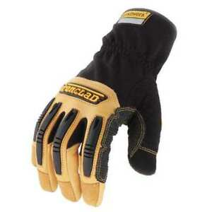 Mechanics Gloves leather 2xl pr Ironclad Rwg2 06 xxl