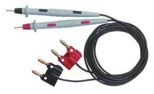 Test Probe Set black red 30vac 60vdc Pomona 6303