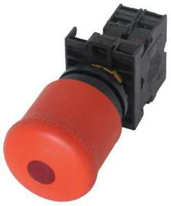 Illuminated Emergency Stop Push Button Eaton M22 pvl k01 230r