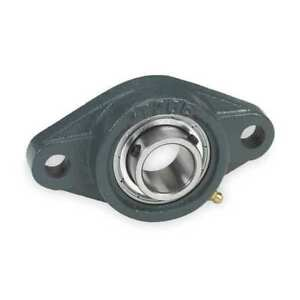 Flange Bearing 2 bolt ball 1 7 16 Bore Dayton 3fcn8