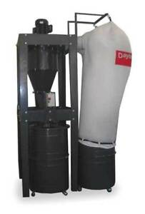 Dayton 3aa26 Central Dust Collector
