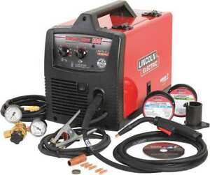 Portable Mig Welder Easy Mig 180 Series 208 240vac Lincoln Electric K2698 1
