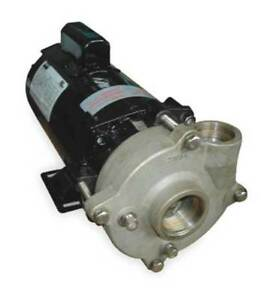Stainless Steel 1 2 Hp Centrifugal Pump 115 230v Dayton 2zwt9