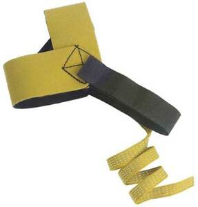 Antistatic Heel Strap yellow pk20 Zoro Select 4ecu8
