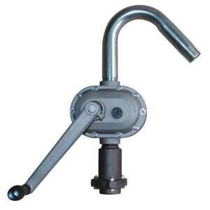 Hand Drum Pump aluminum 1 1 4in Od Dayton 4ha35