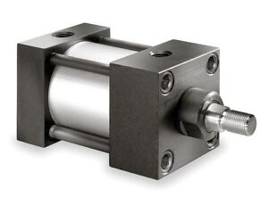 2 1 2 Bore Double Acting Air Cylinder 8 Stroke Speedaire 4mu42