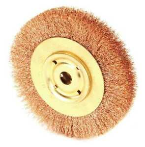 Ampco Wb 44 Crimped Wire Wheel Wire Brush Arbor 6