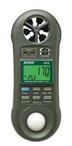 Extech 45170 Anemometer With Humidity 80 To 5910 Fpm