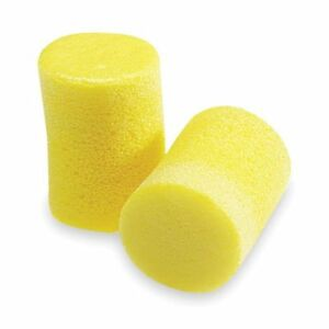 Uncorded Ear Plugs 29db Rated Disposable Cylinder Shape Pk 500