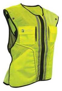 Construction Safety Vest lime s m Falltech G5051sm