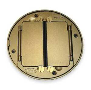 Floor Box Cover Tile Flange brass Hubbell Wiring Device kellems S1tfcbrs