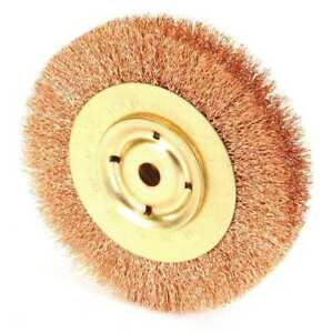 Ampco Wb 44a Crimped Wire Wheel Wire Brush 6 1 W