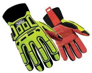 Cut Rest Gloves synth Leather Palm l pr Ringers Gloves 270 10