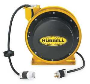 Retractable Cord Reel Hubbell Wiring Device kellems Hbl45123c